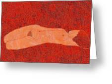0358 Figurative Art Greeting Card