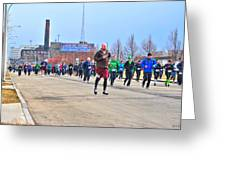 037 Shamrock Run Series Greeting Card