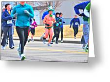 038 Shamrock Run Series Greeting Card