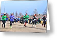 041 Shamrock Run Series Greeting Card