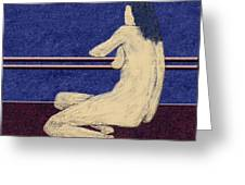 0452 Figurative Art Greeting Card