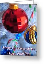 05 Christmas Card Greeting Card