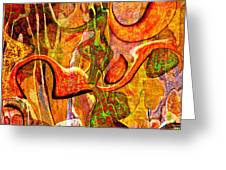0625 Abstract Thought Greeting Card