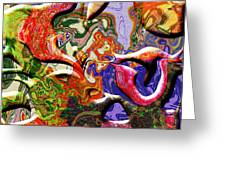 0627 Abstract Thought Greeting Card