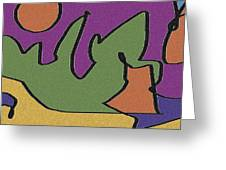 0638 Abstract Thought Greeting Card