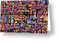 0649 Abstract Thought Greeting Card