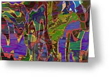 0661 Abstract Thought Greeting Card