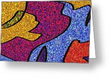 0665 Abstract Thought Greeting Card
