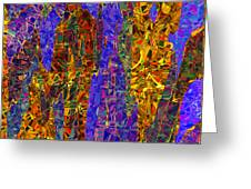 0666 Abstract Thought Greeting Card