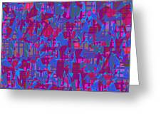 0671 Abstract Thought Greeting Card