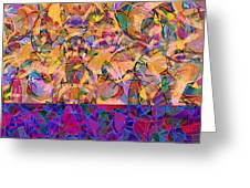 0672 Abstract Thought Greeting Card