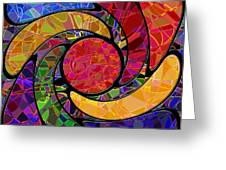 0677 Abstract Thought Greeting Card