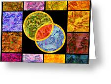 0691 Abstract Thought Greeting Card