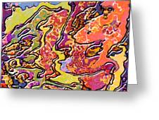 0693 Abstract Thought Greeting Card