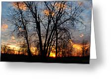 07 Sunset Greeting Card
