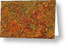 0700 Abstract Thought Greeting Card