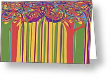 0706 Abstract Thought Greeting Card