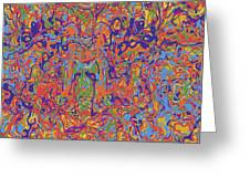 0707 Abstract Thought Greeting Card