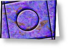 0711 Abstract Thought Greeting Card