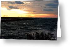 08 Sunset Greeting Card
