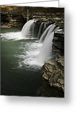 0804-0013 Falling Water Falls 4 Greeting Card