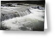0804-0113 Six Finger Falls 2 Greeting Card by Randy Forrester