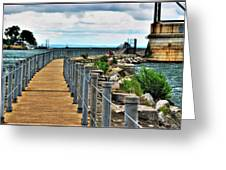 001 Peace Bridge Series Greeting Card