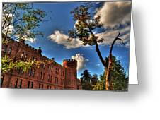002 The 74th Regimental Armory In Buffalo New York Greeting Card