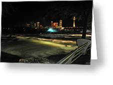 010 Niagara Falls Usa Rapids Series Greeting Card