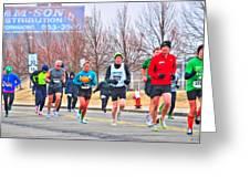 011 Shamrock Run Series Greeting Card