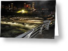012 Niagara Falls Usa Rapids Series Greeting Card
