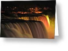 012 Niagara Falls Usa Series Greeting Card