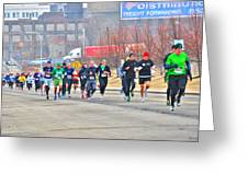 013 Shamrock Run Series Greeting Card