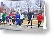 015 Shamrock Run Series Greeting Card