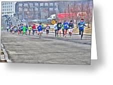 02 Shamrock Run Series Greeting Card