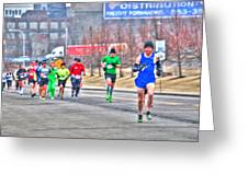 03 Shamrock Run Series Greeting Card