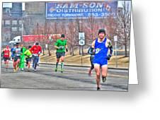 04 Shamrock Run Series Greeting Card