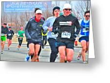 07 Shamrock Run Series Greeting Card