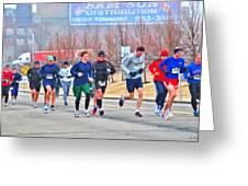 09 Shamrock Run Series Greeting Card