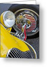 1929 Ford Model A Roadster Wheel Greeting Card