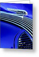 1936 Pontiac Hood Ornament Greeting Card