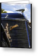 1937 Ford Model 78 Cabriolet Convertible By Darrin Greeting Card by Gordon Dean II