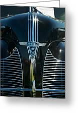 1940 Pontiac Greeting Card