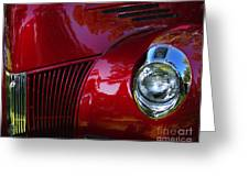 1941 Ford Truck Nose Greeting Card