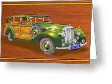 1947 Bentley Shooting Brake Greeting Card