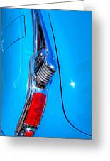 1950 Oldsmobile 88 Deluxe Holiday Coupe Greeting Card