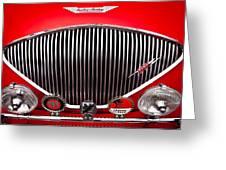 1955 Austin Healey 100-4 Greeting Card