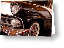 1955 Ford Fairlane Crown Victoria 2-door Hardtop Greeting Card