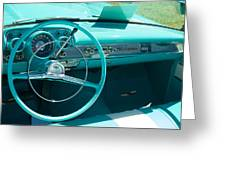1957 Chevy Convertable Greeting Card