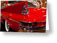 1961 Chrysler 300g 2-door Hardtop Greeting Card